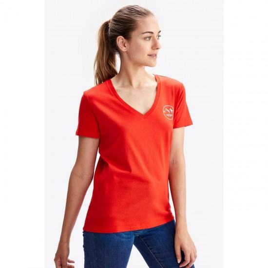 LOLE Yoga femme LOLE T-shirt col V coupe droite DAILY